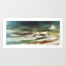 Fantasy Shoreline Art Print