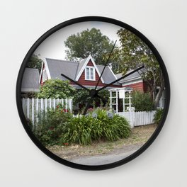 Little French Cottage Wall Clock