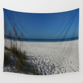 A Peaceful Day At A Marvelous Gulf Shore Beach Wall Tapestry