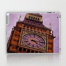 Big Ben in Purple Laptop & iPad Skin