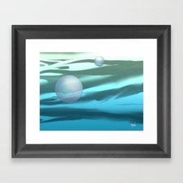 PACIFIC OCEAN AT DAWN Framed Art Print