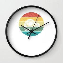 Chameleon Chamaeleon  Retro Vintage Wall Clock