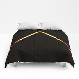 Pyramid of Light Comforters