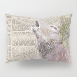 His Master's Voice - The Stag Pillow Sham