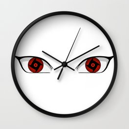 Eyes of Shunshin no Shisui Wall Clock