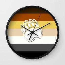 Gay Bear Wall Clock