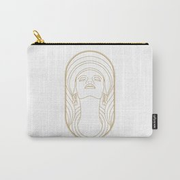 Girl Art Deco 01 Carry-All Pouch