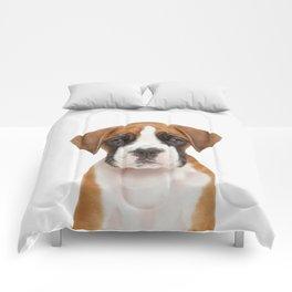 German Boxer Puppy Comforters