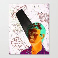 ALIENS BRO! Canvas Print