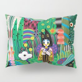 Lost boy in the forest Pillow Sham