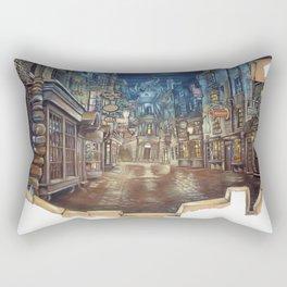 Breach to Diagon Alley Rectangular Pillow