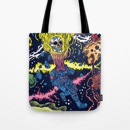 Boundless three-dimensional extent Tote Bag
