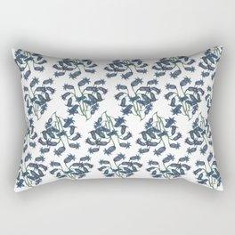 Blue Bell - Watercolor painting. Rectangular Pillow
