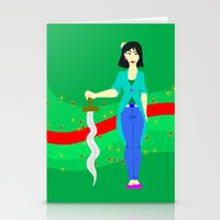 mulan Stationery Cards featuring Mulan by Eva Duplan Illustrations