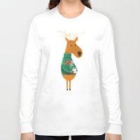 coffee Long Sleeve T-shirts featuring Hot Coffee by Picomodi