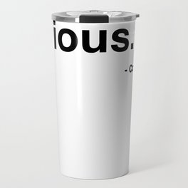 Life's Too Short - Cory Monteith Travel Mug
