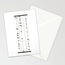 Musical Birds Stationery Cards