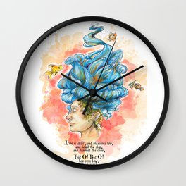 The Lady Isabella Wall Clock