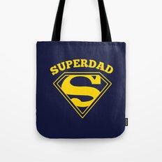 Superdad | Superhero Dad Gift Tote Bag