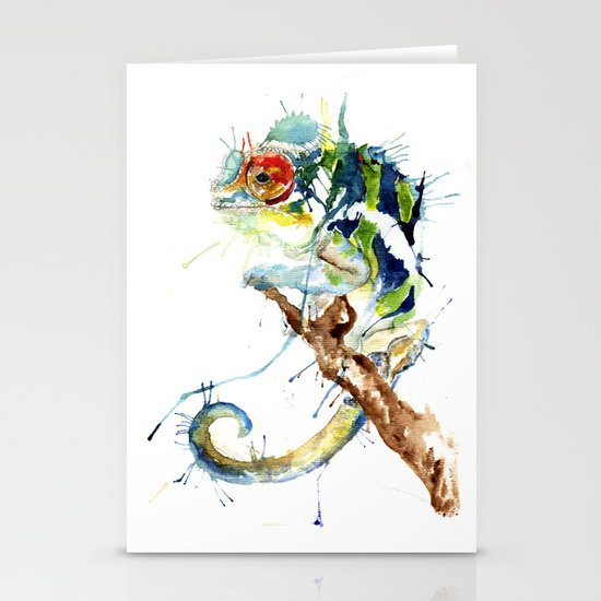 My Chameleon Stationery Cards