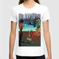 surrealism T-shirts featuring Surrealism No.1-4 by WROSIV