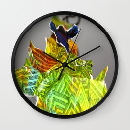Collage Man Wall Clock
