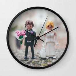 Littel wedding Wall Clock