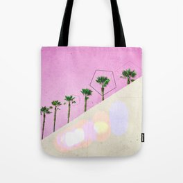 Levitated Mass (Pink) Tote Bag