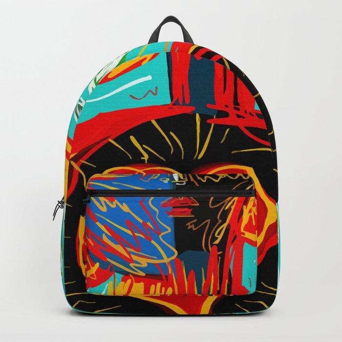Love Rules Street Art Graffiti Pop Backpack