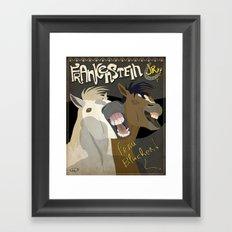 Young Frankenstein Framed Art Print