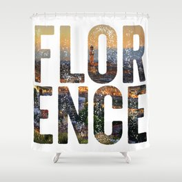Florence City Shower Curtain