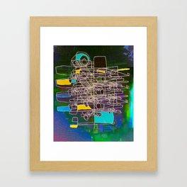 MC COM Framed Art Print