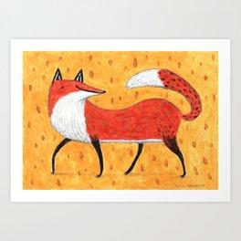 Sassy Little Fox Art Print