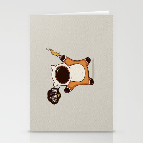 I May Be Awesome, but... Stationery Cards