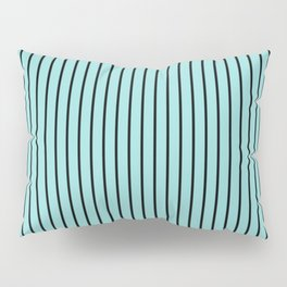 Limpet Shell and Black Stripes Pillow Sham