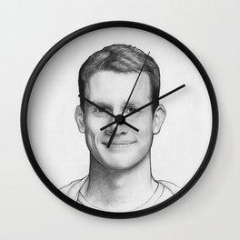 Daniel Tosh Portrait Wall Clock