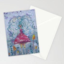 Shroom Fairy Stationery Cards