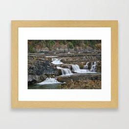 Kootenai Falls Framed Art Print