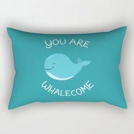 Whale, thank you! Rectangular Pillow
