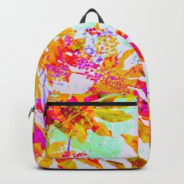 Tropical Adventure - Neon Orange, Pink and Mint Backpack