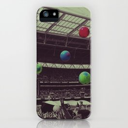 Coldplay at Wembley iPhone Case