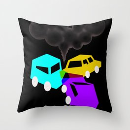 RGBed Throw Pillow