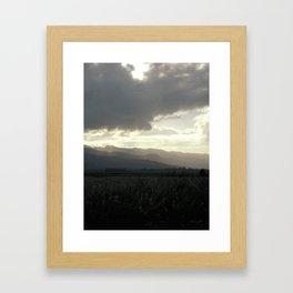 HAWAII SHADES OF GREY Framed Art Print