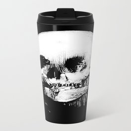 All Is Vanity: Halloween Life, Death, and Existence Travel Mug
