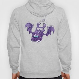 Bat Sinking its Fangs into any Surface Hoody