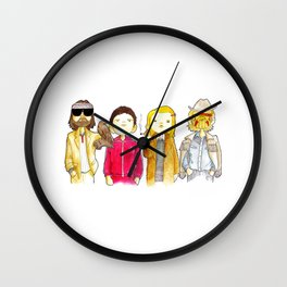 Royal Tenenbaum bought the house on Archer Avenue in the winter of his 35th year Wall Clock