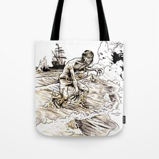 Out of the Sea of Red Tote Bag