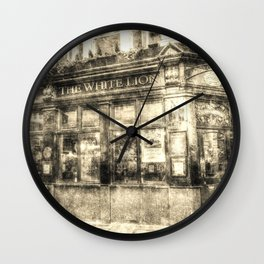 The White Lion Covent Garden London Vintage Wall Clock