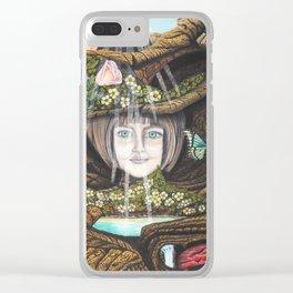 La source de l'amour Clear iPhone Case