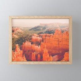 Bryce Canyon Hoodoos Fine Art Print Framed Mini Art Print